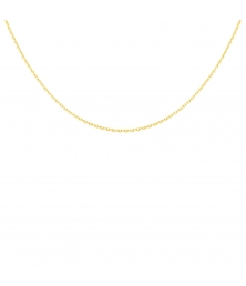 Collier Chaine Forçat Diamantée - Or Jaune - Homme ou Femme