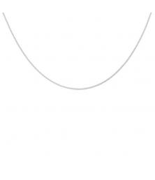 Collier Chaine Gourmette - Or Blanc - Femme ou Enfant