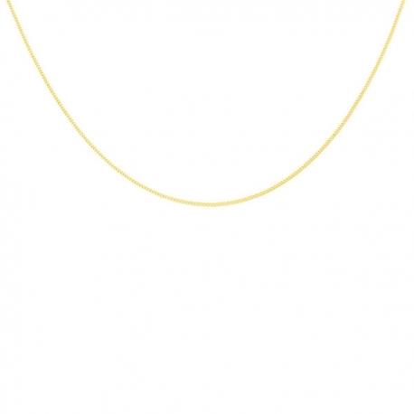 Collier Chaine Gourmette - Or Jaune - Femme ou Enfant