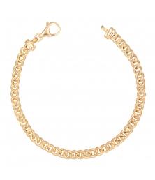 Bracelet Maille Gourmette - Or 18 Carats Jaune - Homme ou Femme