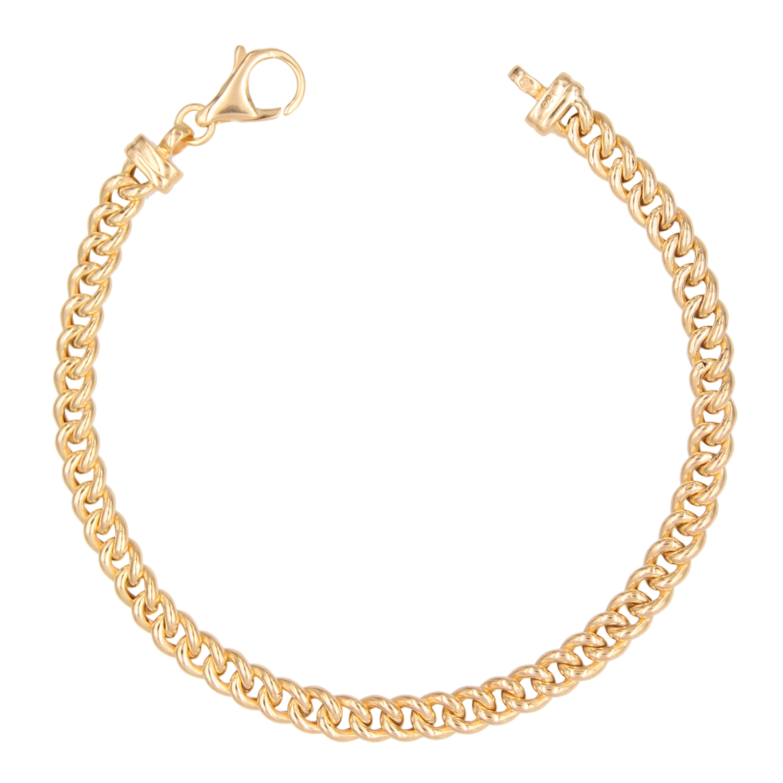 bracelet femme or 18 carats 20 cm