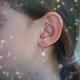Boucles d'Oreilles Pendantes Perles de Culture - Or Jaune Véritable - Femme