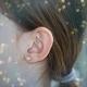 Boucles d'Oreilles Perles de Culture - Or Jaune Véritable - Femme