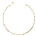 Bracelet Femme Or Jaune - Maille Marine