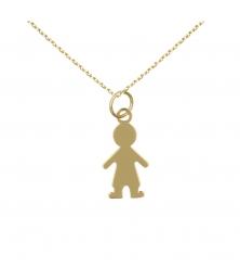 Collier - Pendentif Or - Garçon - Femme ou Enfant