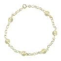 Bracelet Femme Or Jaune - Boules Marseillaises