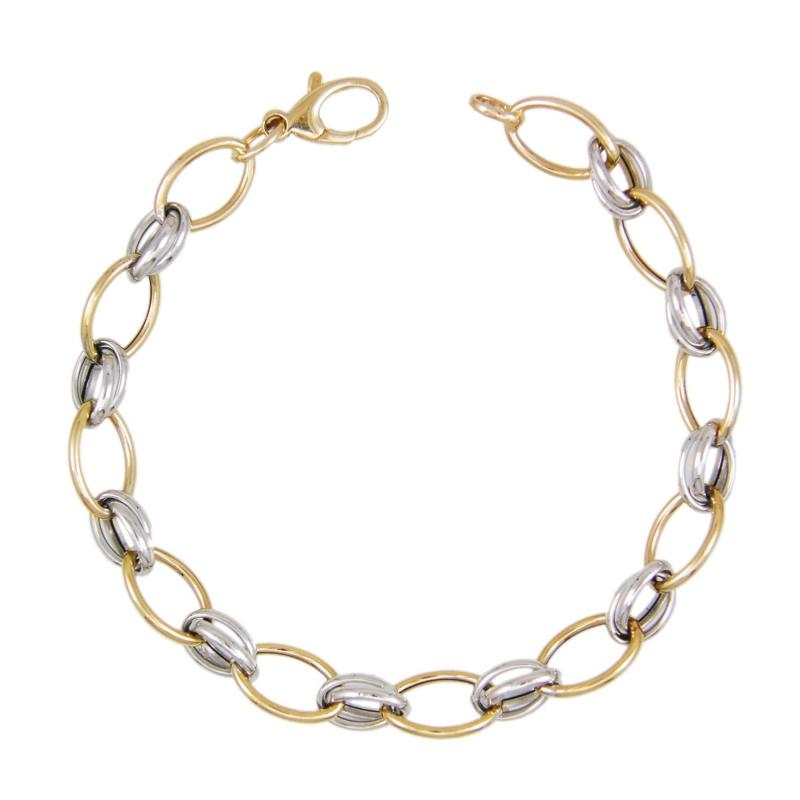 Bracelet Femme 99 Jaune Or Bicolore Blanc 349 € Et pLqMGzVSU