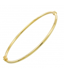 Bracelet Jonc OR Jaune - Femme