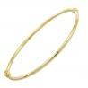 Bracelet Jonc OR Jaune Véritable - Femme