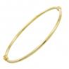 Bracelet Or 18 Carats 750/000 Jaune - Jonc Femme
