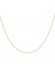 Collier Or 18 Carats 750/000 Chaine Vénitienne Jaune - Femme ou Enfant