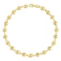 Bracelet Or 18 Carats 750/000 Boules Marseillaises Jaunes - Femme
