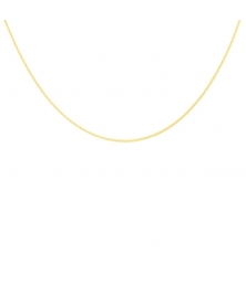 Collier Chaine Gourmette Or 18 Carats 750/000 Jaune - Homme ou Femme