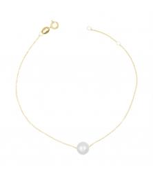 Bracelet Or et Perle - Femme